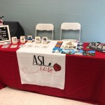 ASL Rose Booth at the National Deaf Education Conference ❤️